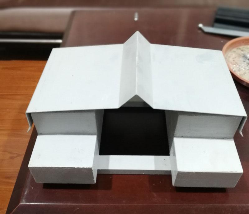 屋面-平面V字型